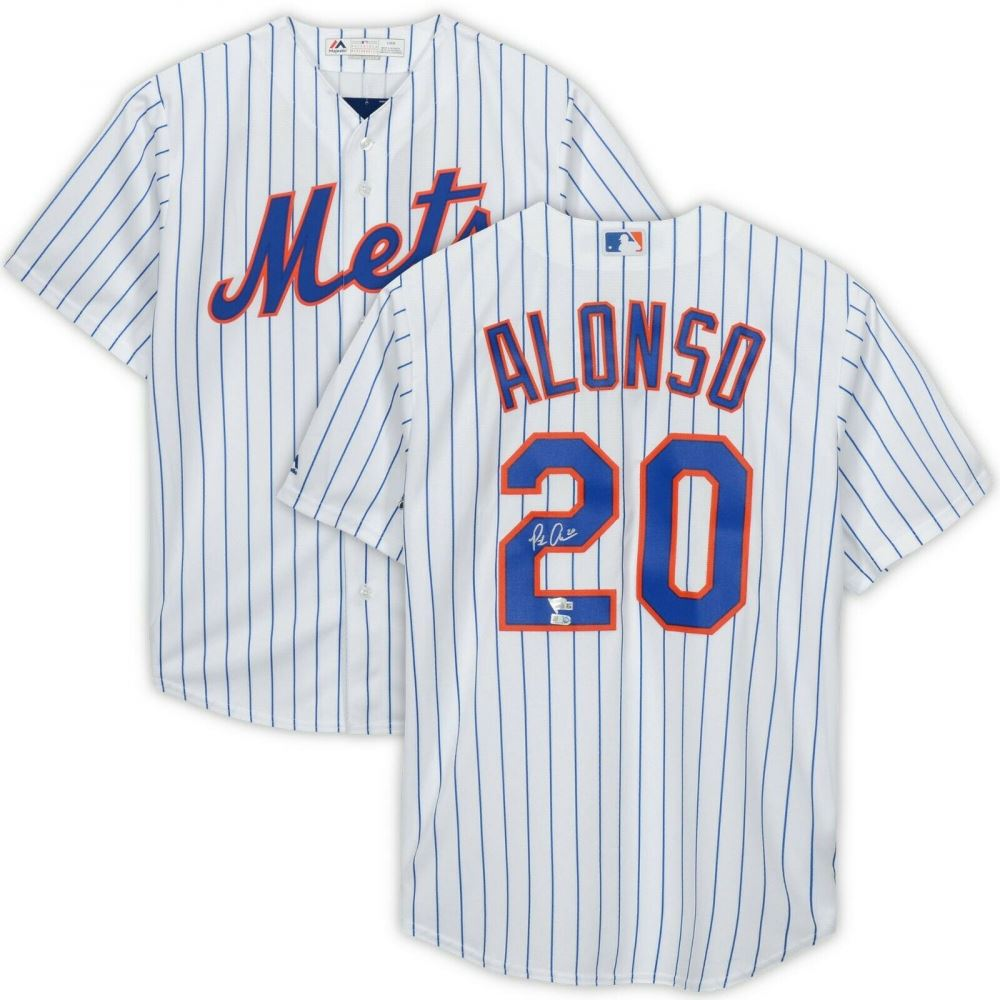 release date: 27e7b 7af0b Pete Alonso Signed New York Mets Jersey (Fanatics Hologram)