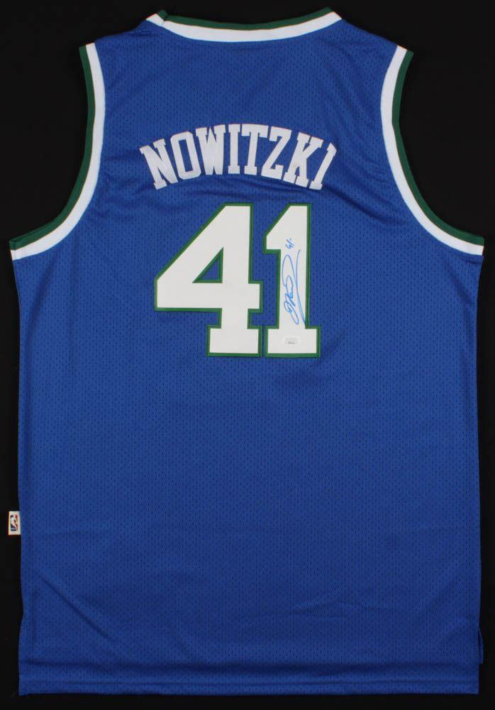 368abdafa9154 Dirk Nowitzki Signed Dallas Mavericks Jersey (JSA COA)
