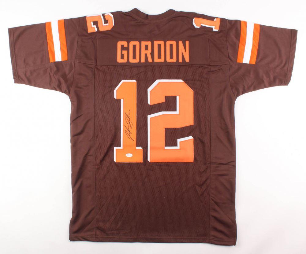 size 40 cada5 600d6 Josh Gordon Signed Cleveland Browns Jersey (JSA COA)