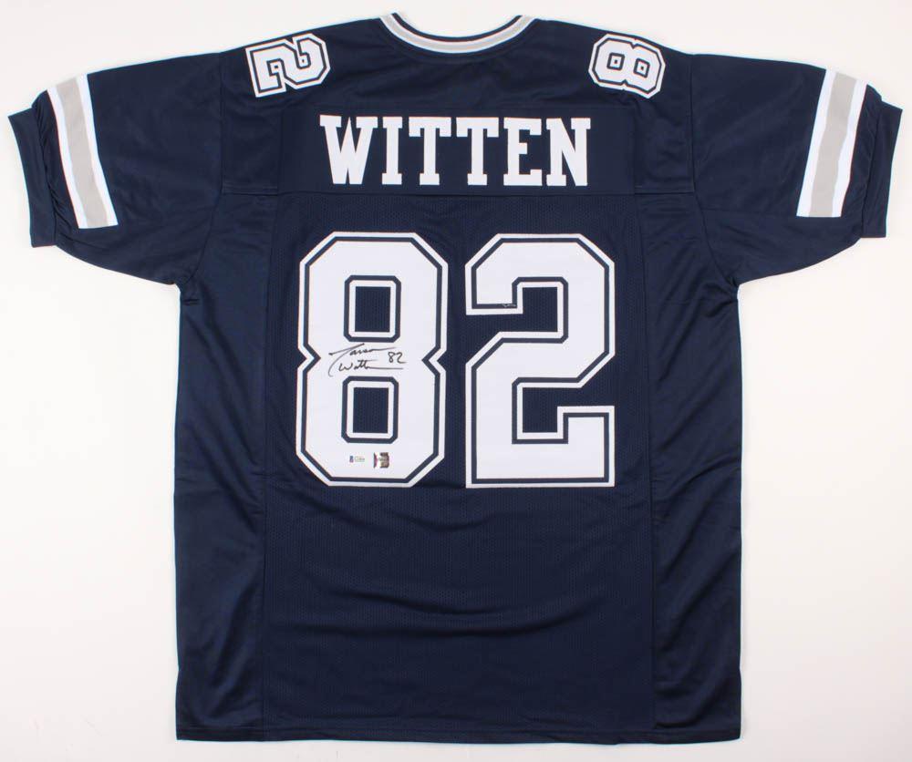 timeless design 30129 03a8f Jason Witten Signed Dallas Cowboys Jersey (Beckett COA ...