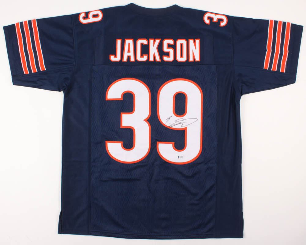 buy popular 6c56f ba1bc Eddie Jackson Signed Chicago Bears Jersey (Beckett COA)