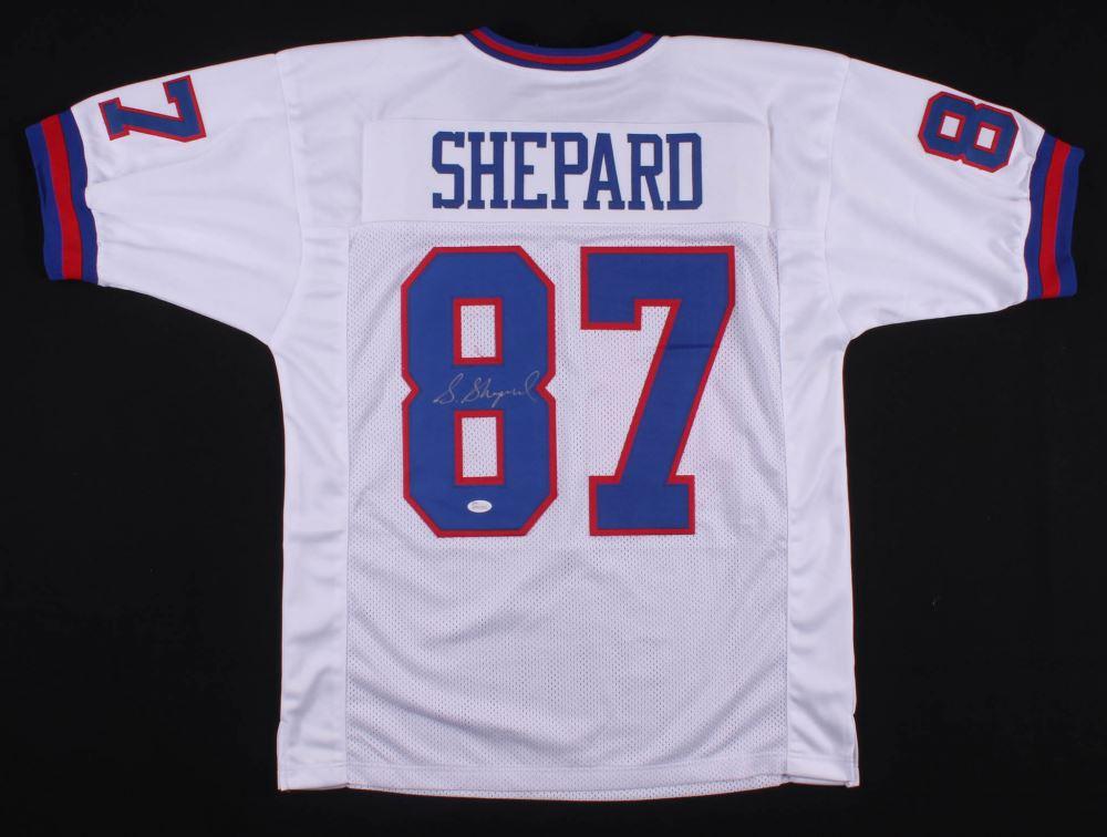 online store c68c6 2fe20 Sterling Shepard Signed New York Giants Jersey (JSA COA)