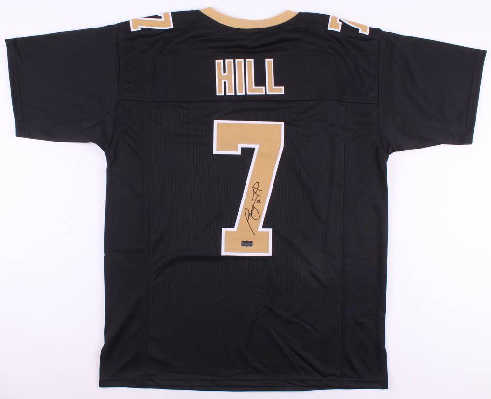 best website 0a202 8689b Taysom Hill Signed New Orleans Saints Jersey (Radtke COA)