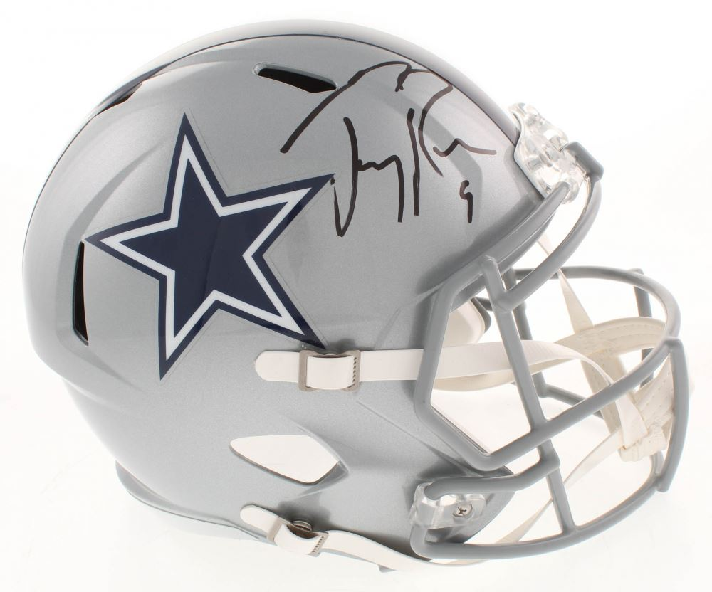 separation shoes ada00 d4e65 Tony Romo Signed Dallas Cowboys Full-Size Speed Helmet ...