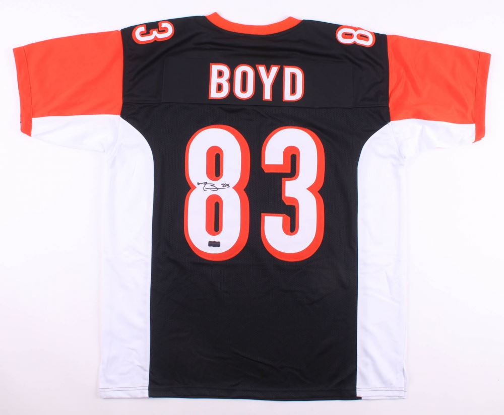 huge selection of cc936 3b1e8 Tyler Boyd Signed Cincinnati Bengals Jersey (Radtke COA)