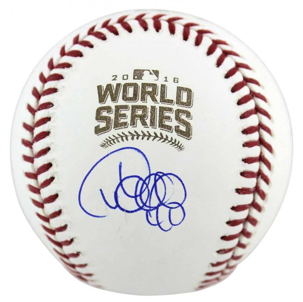 Willson Contreras Signed 2016 World Series Baseball (MLB