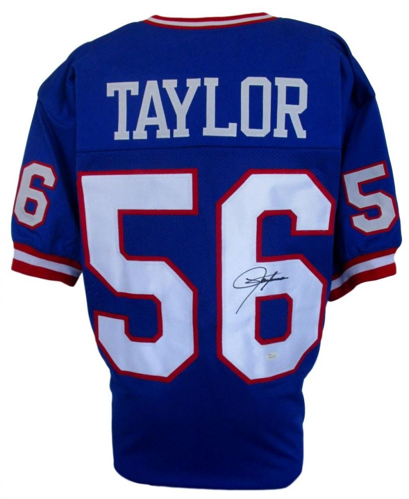 the best attitude 8c577 a220b Lawrence Taylor Signed New York Giants Jersey (JSA COA)