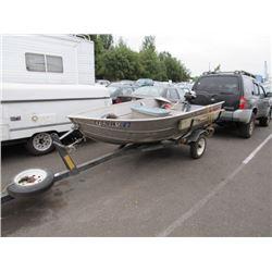 1988 Grey Boat