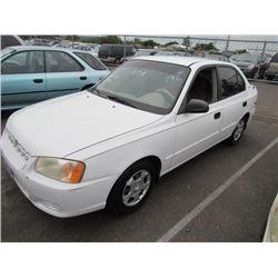 2000 Hyundai Accent
