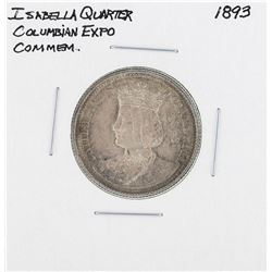 1893 Columbian Exposition Isabella Commemorative Quarter