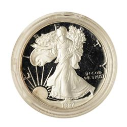 1987 $1 Proof American Silver Eagle Coin