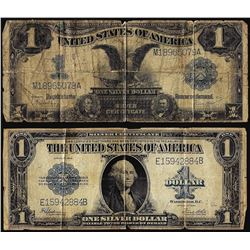 Lot of 1899 & 1923 $1 Silver Certificate Notes