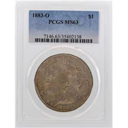 1883-O $1 Morgan Silver Dollar Coin PCGS MS63