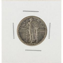 1918-D Standing Liberty Quarter Coin