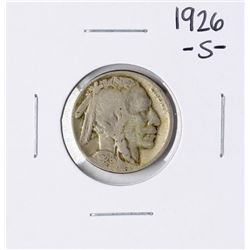 1926-S Buffalo Nickel Coin