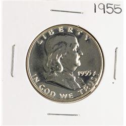 1955 Proof Franklin Half Dollar Coin