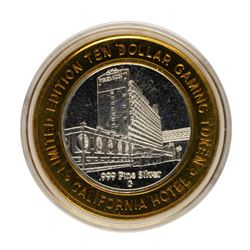 .999 Fine Silver Sam Boyd's California Casino $10 Limited Edition Gaming Token