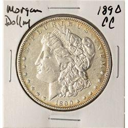 1890-CC $1 Morgan Silver Dollar Coin
