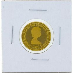 1973 $100 Commonwealth of the Bahamas Gold Coin