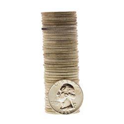 Roll of (40) Brilliant Uncirculated 1959-D Washington Quarter Coins