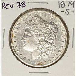 1879-S Rev of 78' $1 Morgan Silver Dollar Coin