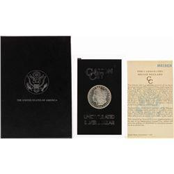 1885-CC $1 Morgan Silver Dollar Coin Uncirculated GSA Hoard w/ Box & COA