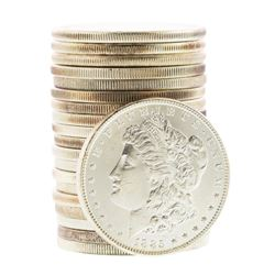 Roll of (20) Brilliant Uncirculated Pre 1921 $1 Morgan Silver Dollar Coins