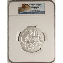 2019-P Lowell Historical Park 5 Ounce Silver Coin NGC SP69 Early Releases