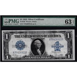 1923 $1 Silver Certificate Note Fr.238 PMG Choice Uncirculated 63EPQ