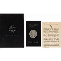 1882-CC $1 Morgan Silver Dollar Coin GSA Hoard w/ Box & COA