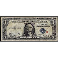"1935A $1 Experimental ""R"" Note Silver Certificate"
