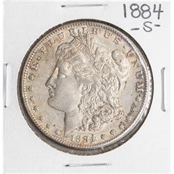 1884-S $1 Morgan Silver Dollar Coin