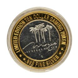 .999 Fine Silver Mirage Las Vegas, Nevada $10 Limited Edition Gaming Token
