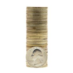 Roll of (40) Brilliant Uncirculated 1976-S Bicentennial 40% Silver Quarter Coins