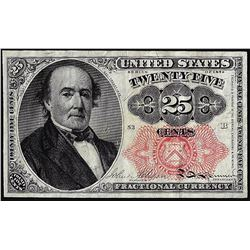 1874 Fifth Issue Twenty-Five Cents Fractional Currency Note