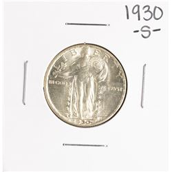 1930-S Standing Liberty Quarter Coin