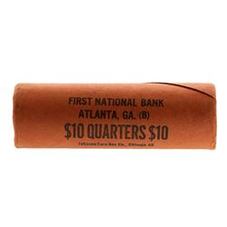 Roll of (40) Brilliant Uncirculated 1962-D Washington Quarter Coins