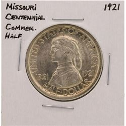 1921 Missouri Centennial Commemorative Half Dollar Coin