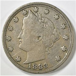 1883 WITH CENTS LIBERTY NICKEL VF