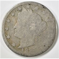 1885 LIBERTY NICKEL AG/G