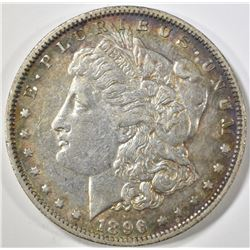 1896-O MORGAN DOLLAR XF/AU