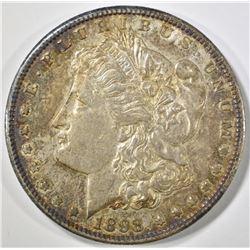 1898-S MORGAN DOLLAR AU/BU COLOR