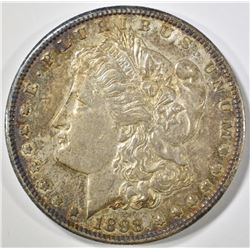 1898-S MORGAN DOLLAR AU/BU COLOR
