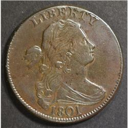 1801 1/000 LARGE CENT   XF