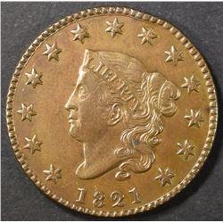 1821 LARGE CENT   AU