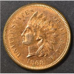 1868 INDIAN CENT  BU RD