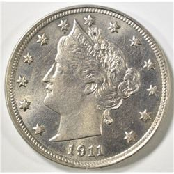 1911 LIBERTY NICKEL   CH BU