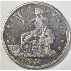 1876-CC TRADE DOLLAR  AU