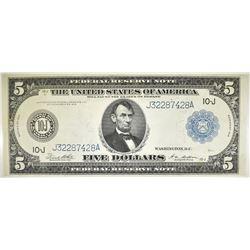 1914 $5 FRN  KANSAS CITY