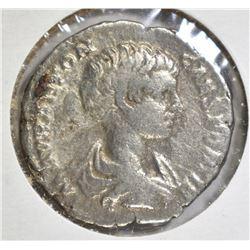 211-217 AD SILVER DENARIUS EMPEROR CARACALLA ROME